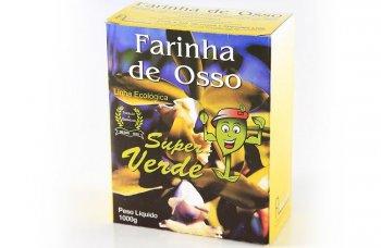 ADUBO FARINHA DE OSSO SUPER VERDE (1KG)